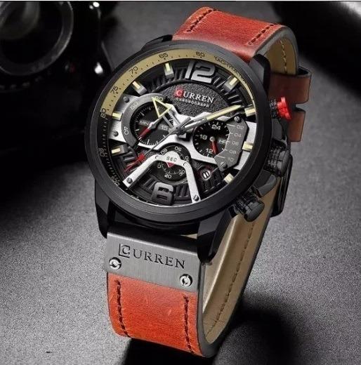 Relógio Masculino Curren 8329 Esportivo Original
