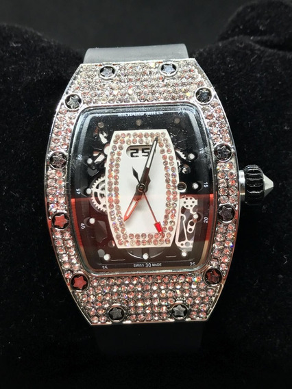 Relógio Cravejado