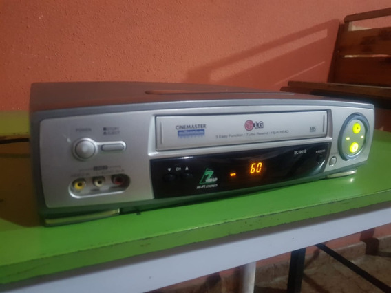Vídeo Cassete Vhs LG Bc991 B Stereo 7 Cabeças