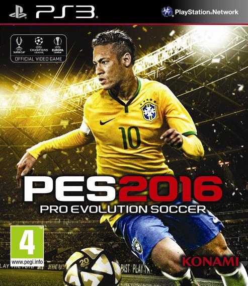Jogo Pro Evolution Soccer 2016 Pes Ps3 Mídia Fís Portugues