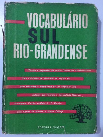 Vocabulário Sul-rio-grandense - Romaguera Corrêa E Outros