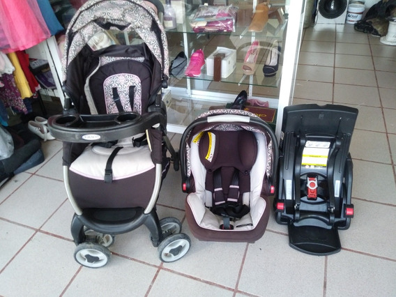 Carriola Con Portabebé Y Base Para Auto Graco Snug Ride