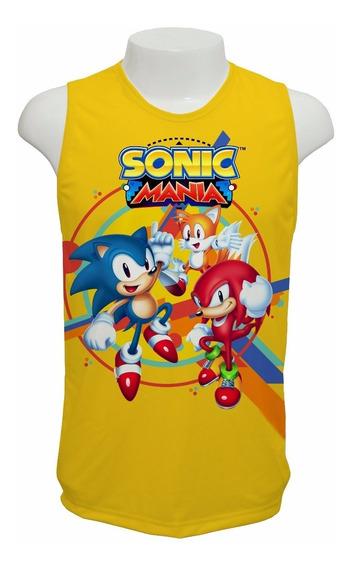Camiseta Sonic Mania 2017 - Regata