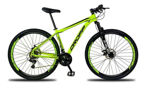 Bicicleta Aro 29 Quadro 17 Freio A Disco 21v Amarelo Preto