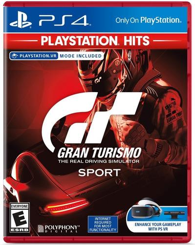 Gran Turismo Sport Ps4 ¡ Totalmente Nuevo Y Sellado!