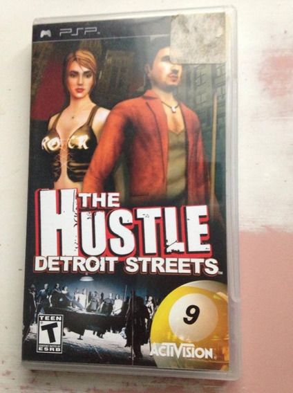 The Hustle Detroit Streets Psp 2005 Sony Playstation $78,99