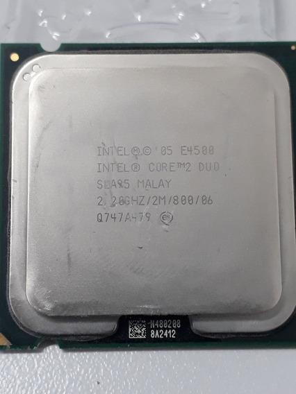 Processador Core 2 Duo E4500 2.20ghz Usado