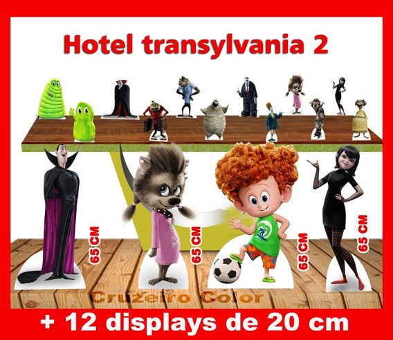 Display Hotel Transylvania, Totem Enfeite De Aniversario