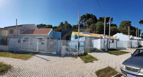 Casa Com 2 Dormitórios À Venda, 40 M² Por R$ 148.000,00 - Campo De Santana - Curitiba/pr - Ca0370