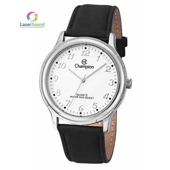 Relógio Champion Unissex Social Cn20033q, C/ Garantia E Nf
