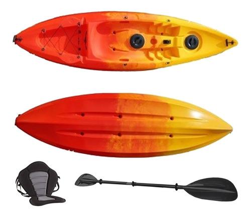 Kayak Polímero Rotomoldeado Mod. Helen Para 1 Persona.