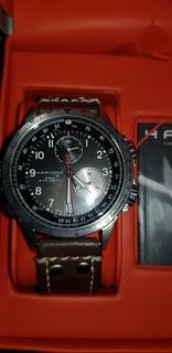 Reloj Hamilton Khaki Eto Chrono Caja Papeles Impecable !!!