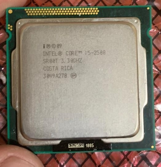 Processador + Cooler Intel I5 2500ghz