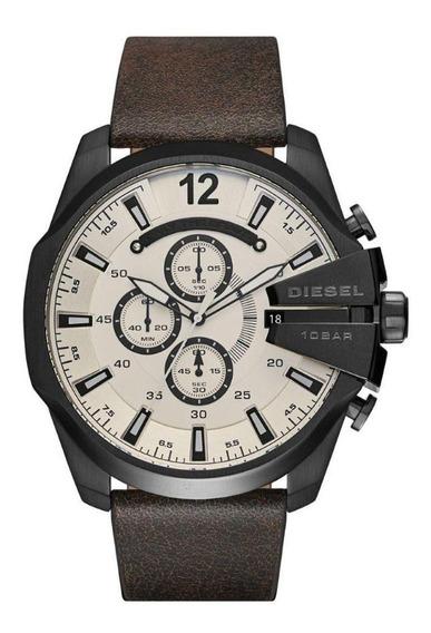 Relógio Diesel Dz4422 Preto Original Completo Com Caixa