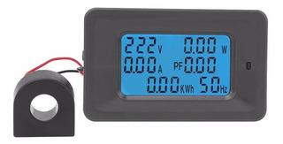Wattímetro Voltímetro Amperímeto Frequencímetro 110v 250v Ac