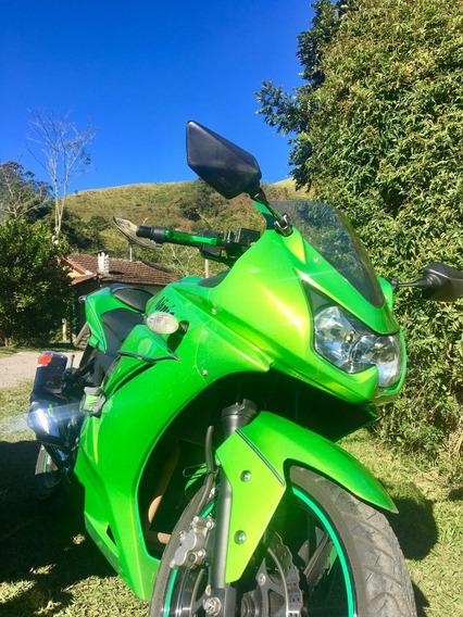 Kawasaki Ninja 250r 2012 Edição Especial Verde Metalico