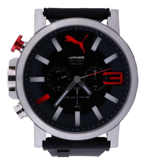 Relógio Masculino Puma Preto E Cinza (pu103981001) Com Nfe