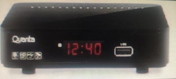 Receptor Digital Quanta Qtdtv1000 Full Hd Com Controle