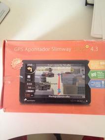 Gps Apontador Slimway Plus 4.3