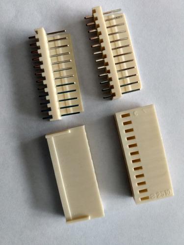 Imagem 1 de 2 de Conector Kf2510 12 Pinos Conjunto Macho E Fêmea
