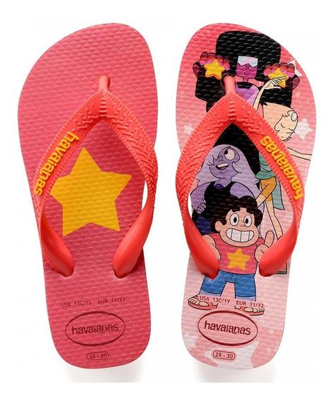 Chinelo Havaianas Original Kids Steven Universo Infantil