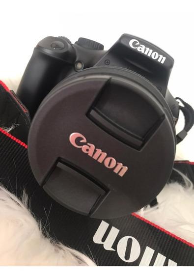 Câmera Fotográfica Digital Profissional Cânon Kit Acessórios
