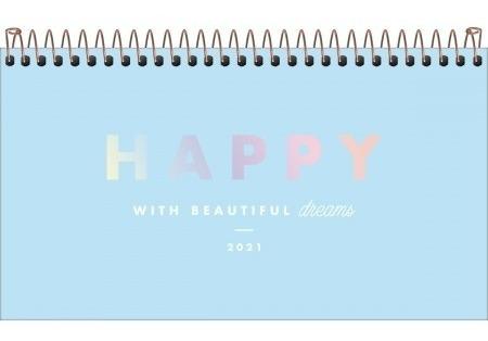 Agenda 2021 Semanal Happy Bolso M2 Tilibra