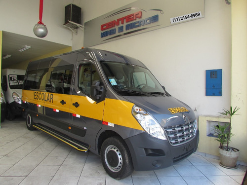 Renault Master Escolar Cinza 2021