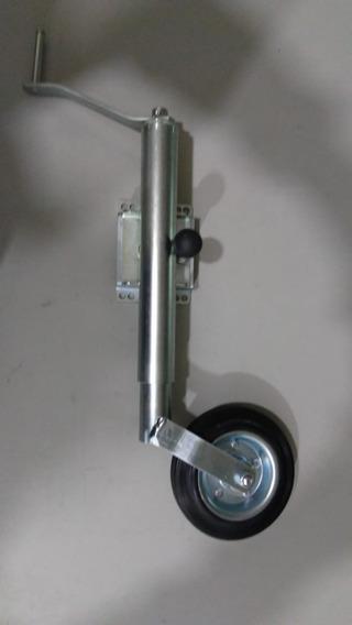 Pedestal Roda Para Carreta Trailer Roda Boba 5ª Roda 180 Kl