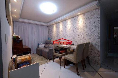 Apartamento Com 2 Dormitórios À Venda, 50 M² Por R$ 220.000,00 - Jardim Penha - São Paulo/sp - Ap2402