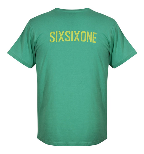 Camiseta Color Verde Talla S. Marca Sixsixone