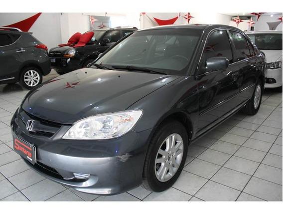 Honda Civic Sedan Lxl 1.7 16v 115cv Aut. 4p ** Couro **´ótim