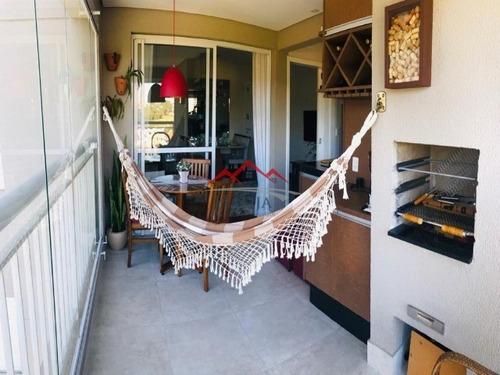 Lindíssimo Apartamento No Condomínio Naturale Em Jundiaí Sp. - Ap00091 - 68149750