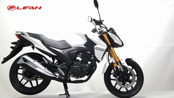Motocicleta Lifan Kps200 Casco De Regalo