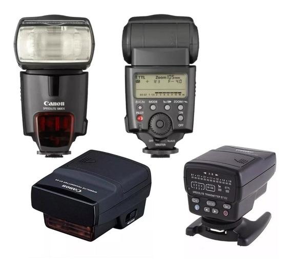Flash Canon Speedlite 580 Ex + Speedlite Transmitter St-e2