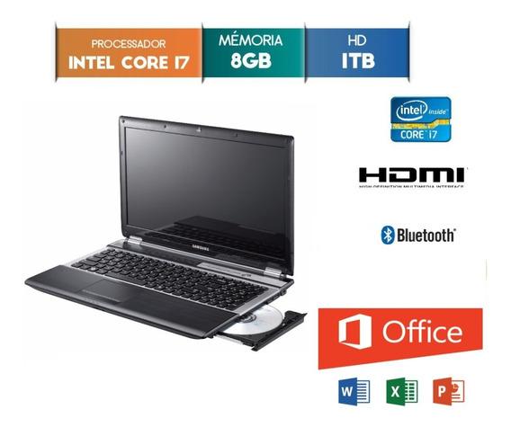Notebook Samsung Rf511 I7-2670qm 2.20ghz 8gb Hd 1tb