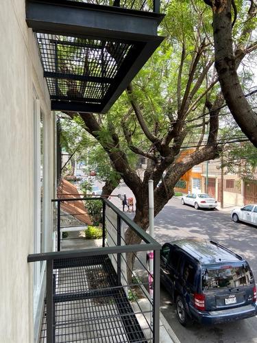 Imagen 1 de 19 de Estrena Departamento Con Balcón Y  Roof Garden