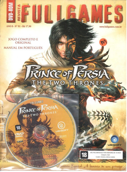 Prince Of Persia Two Thrones Pc Original Mídia Fullgames 91