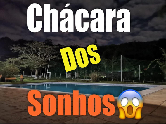 05b - Chácara 100% Documentada Com Piscina