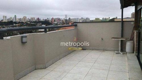 Cobertura Com 2 Dormitórios À Venda, 127 M² Por R$ 532.000,00 - Rudge Ramos - São Bernardo Do Campo/sp - Co0428