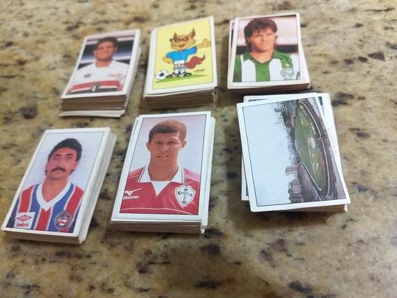 Lote Figurinhas Copa União 1989 - Completo - Excelente