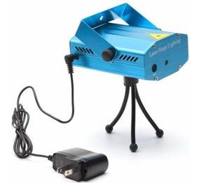 Mini Laser Projetor Stage Holográfico Festa Balada 4 Efeitos
