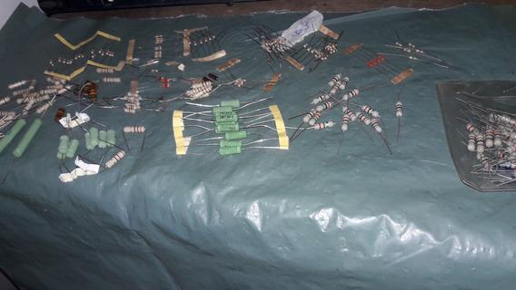 Resistores Variados Lote Da Foto (2480)