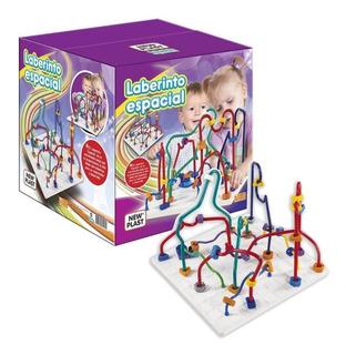 Juguete Laberinto Espacial New Plast Bebes Niños Didactico