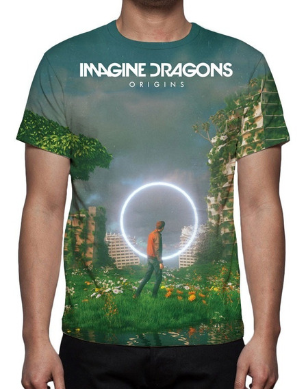 Camiseta Banda Imagine Dragons - Origins Mod 01