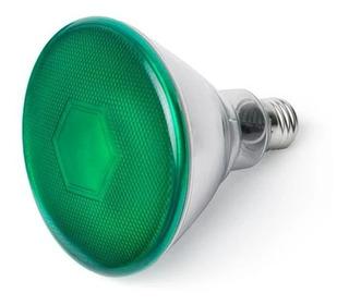 Lampara Par 38 25w Bajo Consumo Verde E27 Interelec