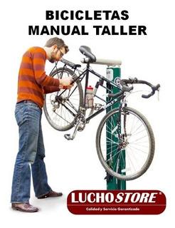 Bicicleta Manual Reparacion Carretera Todo Terreno Español