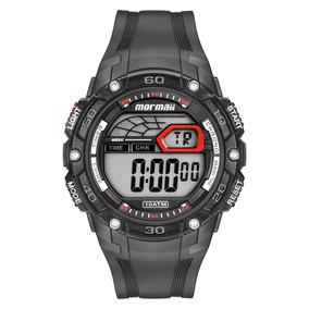 Relógio Mormaii Mo9670aa8r Preto Vermelho