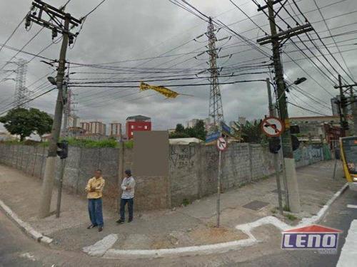 Terreno Para Alugar, 480 M² Por R$ 22.000,00/mês - Tatuapé - São Paulo/sp - Te0071