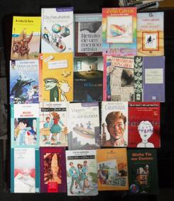Lote Com 30 Livros Infanto Juvenis Diversos